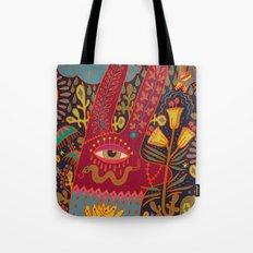 Cyclops Rabbit Tote Bag