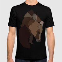 Heart Of Wool Mens Fitted Tee Black SMALL