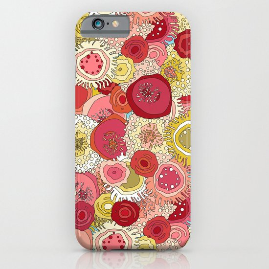 coral garden iPhone & iPod Case