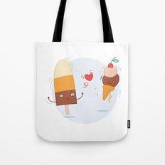 Blue Valentine's Love Tote Bag