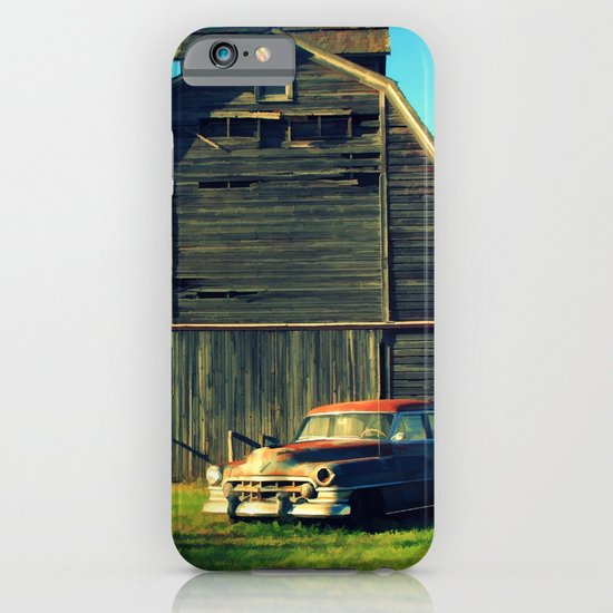 1950 Cadillac & Barn iPhone & iPod Case