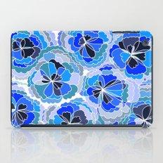 Floral Blue iPad Case