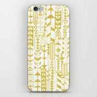 Golden Doodle Arrows iPhone & iPod Skin