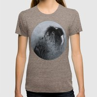 DISINTEGRATION Womens Fitted Tee Tri-Coffee SMALL