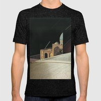 untitled Mens Fitted Tee Tri-Black SMALL