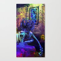 Monday Mourning Canvas Print