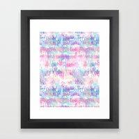 Amelie {Pattern 1A} Framed Art Print