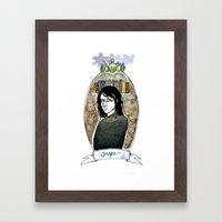 snape Framed Art Print