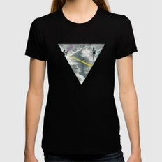 Competitive Strategy Womens Fitted Tee Black SMALL