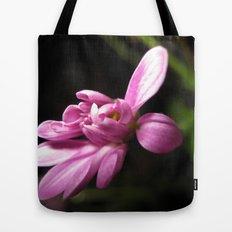 Purple Alone Tote Bag