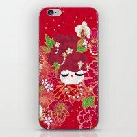 Kokeshina - Automne / Fall iPhone & iPod Skin