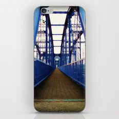 Purple People Bridge iPhone & iPod Skin