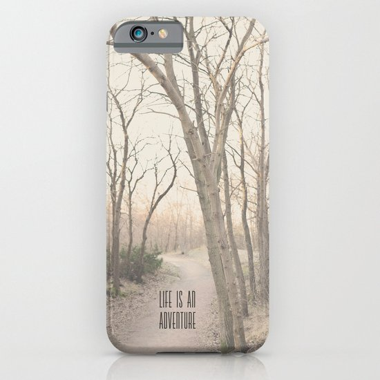 Life is an adventure iPhone & iPod Case