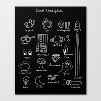 Things That Glow Canvas Print