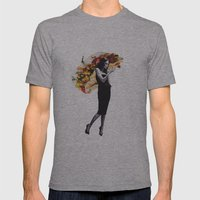 Untitled 2 Mens Fitted Tee Athletic Grey SMALL