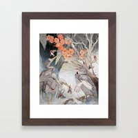 In The Aftermath Framed Art Print
