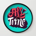 All The Time Wall Clock