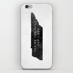 Ten I See iPhone & iPod Skin