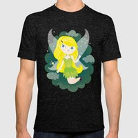 Fairy Mens Fitted Tee Tri-Black SMALL