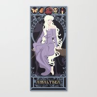 Amalthea Nouveau - The Last Unicorn Canvas Print