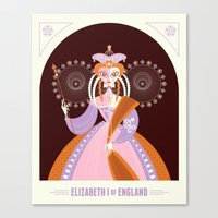 Elizabeth I of England Canvas Print