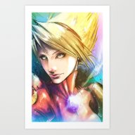 Art Print featuring Princess Of Wyndia by Vincent Vernacatola