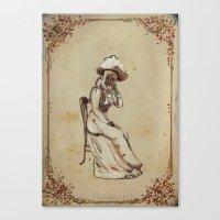 X-Mary, A See-through Sp… Canvas Print