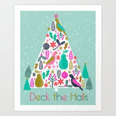 Christmas Tree by Andrea Lauren  Art Print