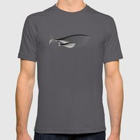 Whale-shirt Mens Fitted Tee Asphalt SMALL