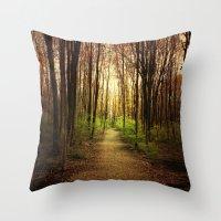 Woodland Wander Throw Pillow