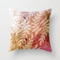 Fall - Susan Weller Throw Pillow