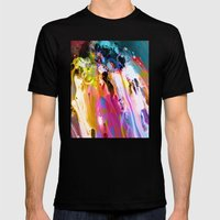 Self-Conscious Sparks Mens Fitted Tee Black SMALL