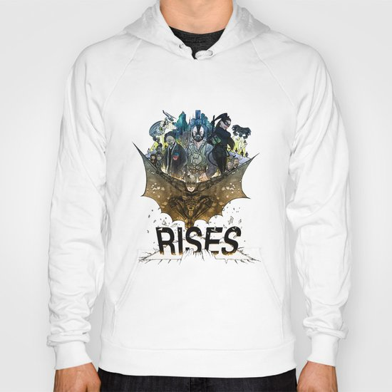 you're COLOR rises Hoody