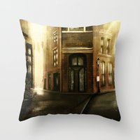 Crossroads Square Throw Pillow
