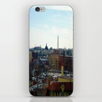 Washington DC Rooftops iPhone & iPod Skin