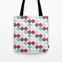 Geometric Modern Pastel Dots  Tote Bag