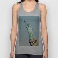 Statue of Liberty Unisex Tank Top