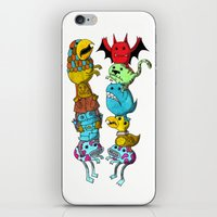 Chicken Fight! iPhone & iPod Skin