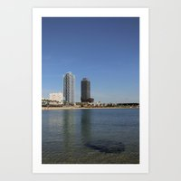 Barcelona (2) Art Print