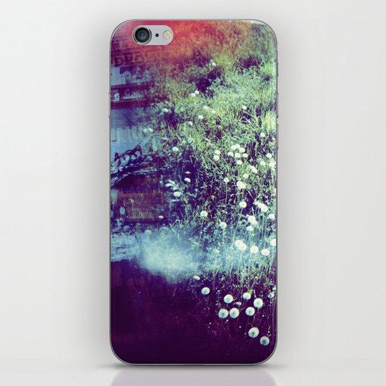 Holga Flowers V iPhone & iPod Skin