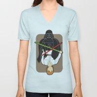 Darth Vader And Luke Unisex V-Neck