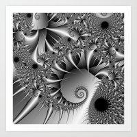 Silver Thorn Art Print
