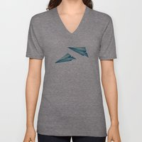 High Flyer | Origami | Simplified Unisex V-Neck