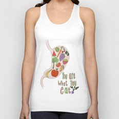 You Are What You Eat Unisex Tank Top