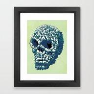 Bunny Skull Uprisings  E… Framed Art Print