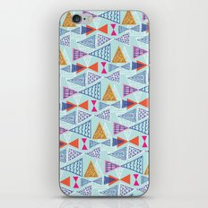 Geometric Mid Century Modern Triangles 2 iPhone & iPod Skin