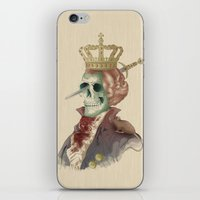 I LOVE THE KING iPhone & iPod Skin