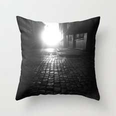 Late night, early morning Throw Pillow