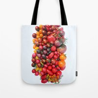 TOMATOES ARE RED Tote Bag