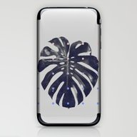 Monstera + Dots iPhone & iPod Skin